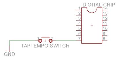 tap tempo schematic