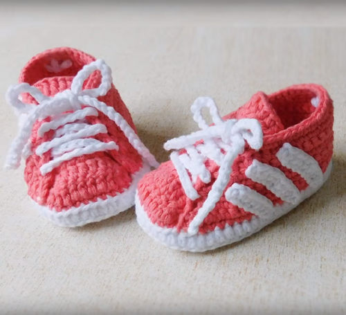 12680cb762e8 Beautiful Skills - Crochet Knitting Quilting   Adidas Baby Shoes ...