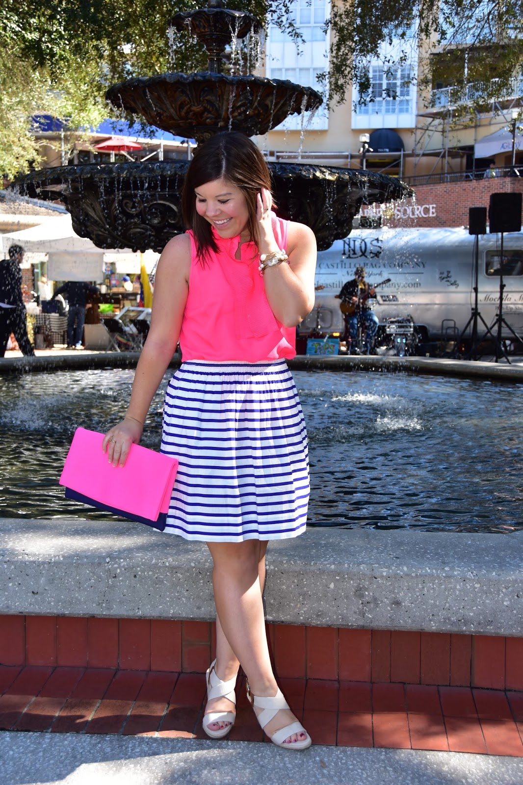Pretty in Pink (& Stripes)