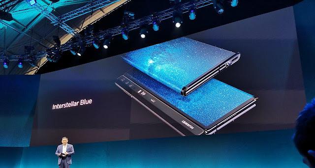 Huawei Mate x con batería 4500 mAh