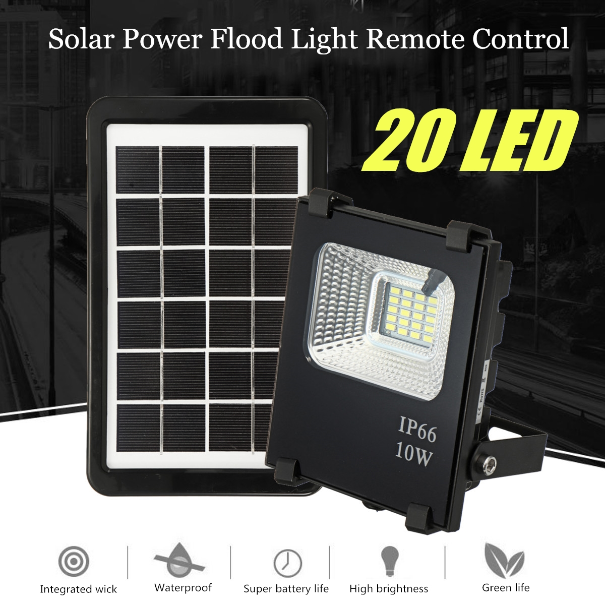 10w Solar Panels Plastic Frame 3w 20led Waterproof Lamp Panel Jet Iii Pro St Led Flashlight Broad Voltage Circuit Cree R5 Remote Optically Control