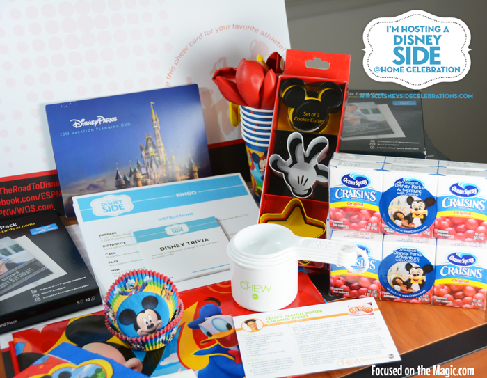 We're having a #DisneySide @Home Celebration!