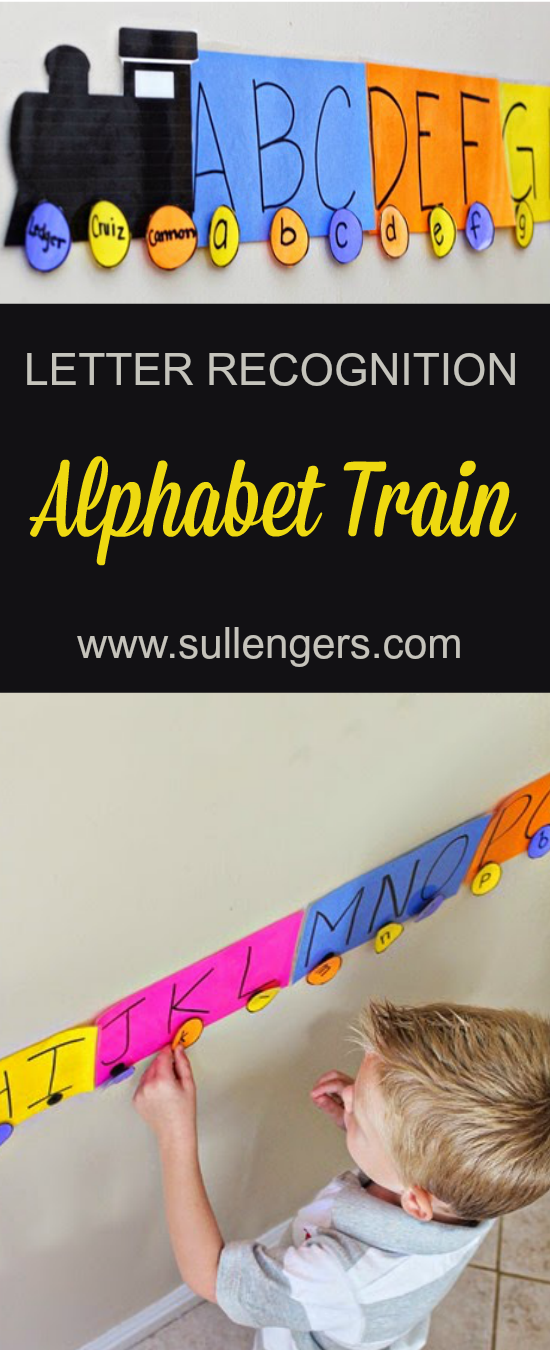 Alphabet Train: Letter Recognition