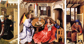 Merode altarpiece Master of Flemalle