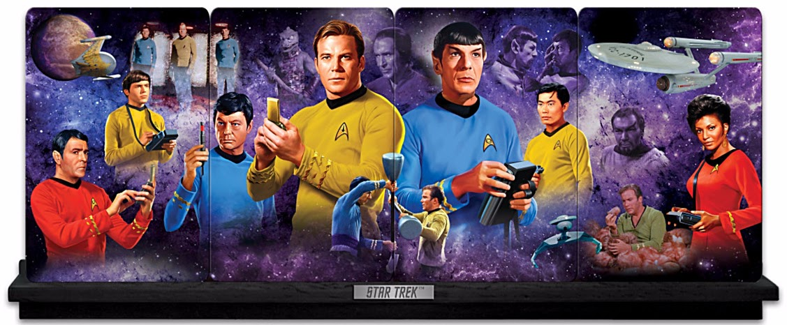 And finally released last year to commemorate the passing of Leonard Nimoy is the Spock-focused Live Long and Prosper plate. The sixteen-and-a-half inch ...  sc 1 st  The Trek Collective & The Trek Collective: The Bradford Exchangeu0027s Star Trek collectors plates