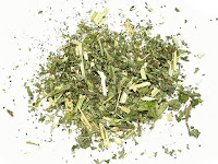 乾燥したキャトニップの葉