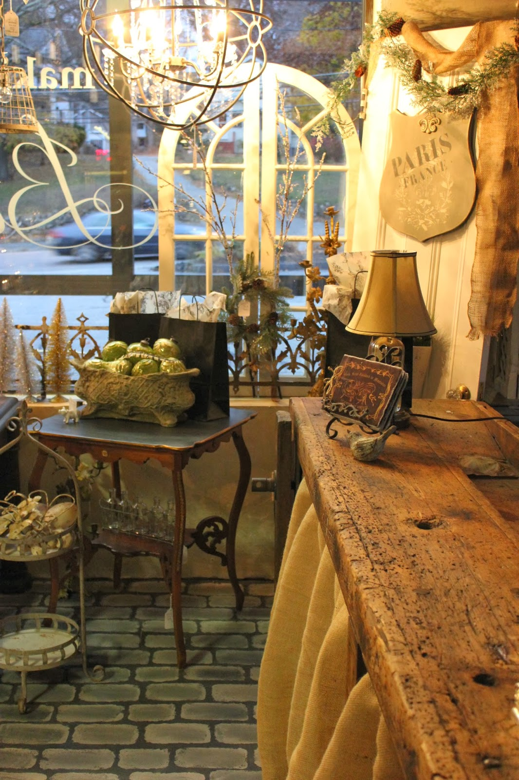 My Home Decor Guide: Maison Decor: Rustic French Home Accents In The Shop