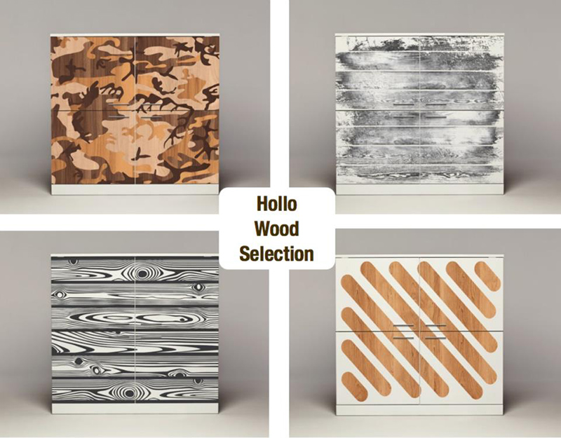 digitally printed storage cabinets