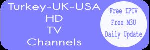 Sky UK USA TRT Turkey Kodi PVR List