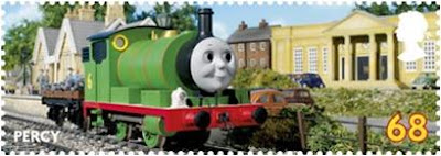 Percy 68p Stamp
