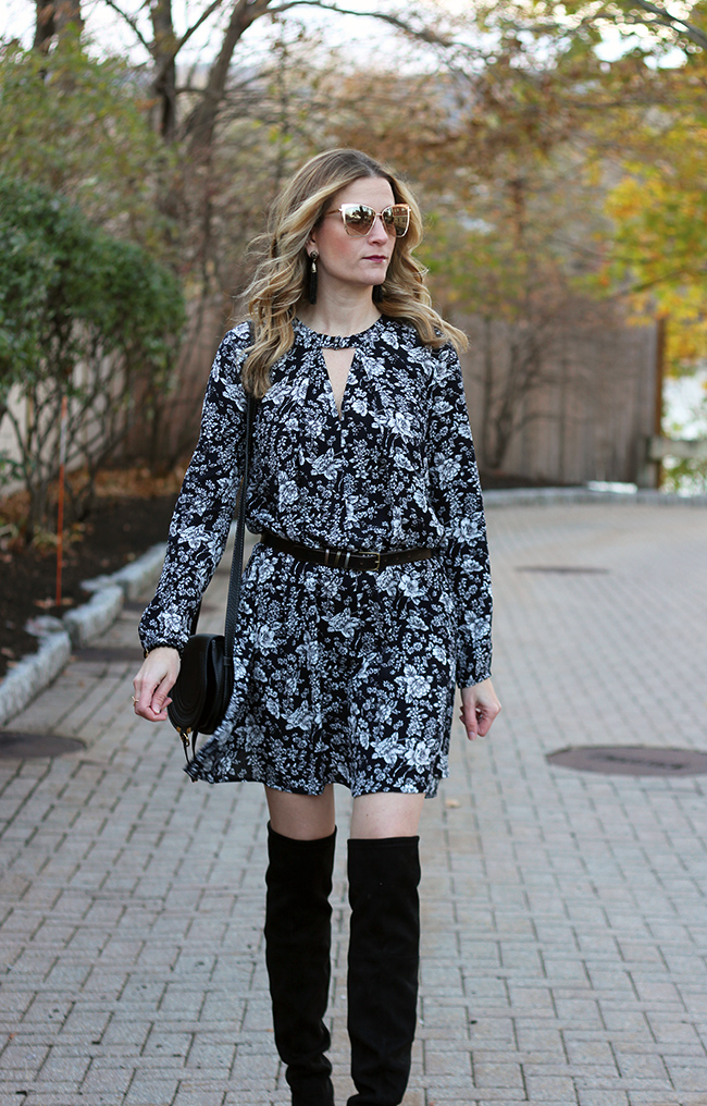 How to style a flowey dress