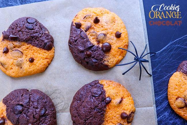 cookie bicolore