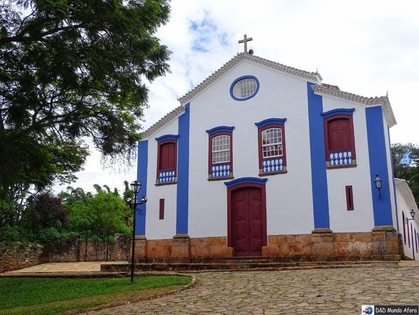 O que fazer em Tiradentes - Igreja São João Evangelista, Tiradentes