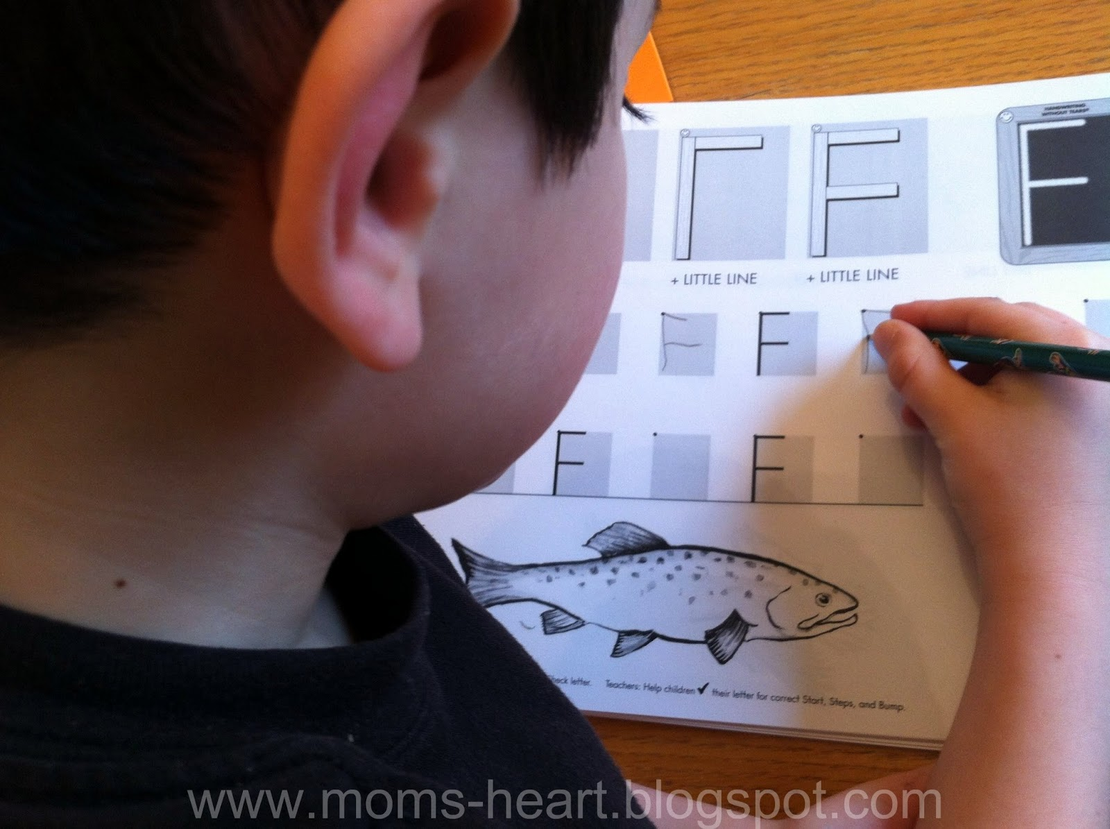 Mom S Heart Handwriting Without Tears Review