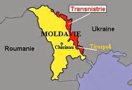 Peta Negara Moldova