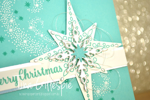 scissorspapercard, Stampin' Up!, Art With Heart, Colour Creations, Star Of Light, Starlight Thinlits