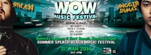 WOW Music Festival Malaysia