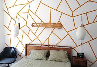 Cara membuat hiasan dinding kamar dari kertas