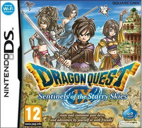 ROMs - Dragon Quest IX - Sentinels of the Starry Skies - NDS - Download