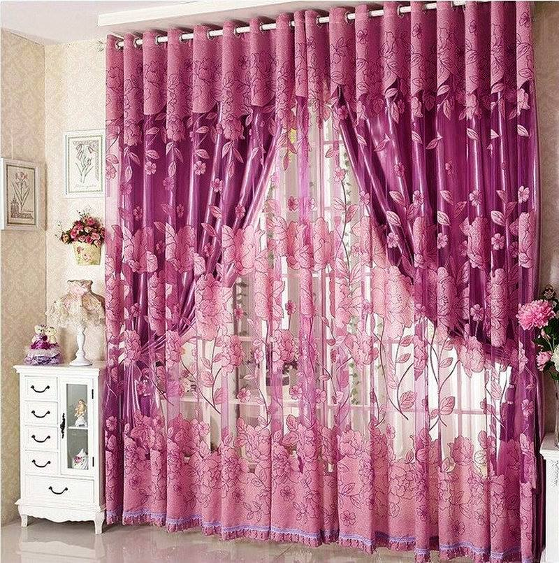15 Amazing Bedroom and living Room Curtain Designs - Care Decor