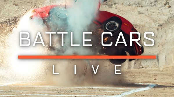 battle cars live event promotes second season of the grand