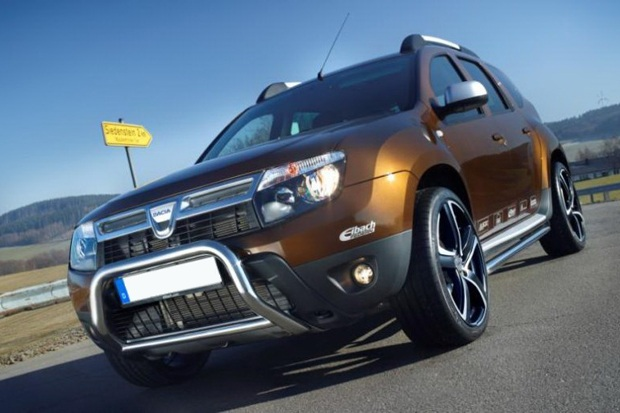 dacia duster entra na onda do tuning. Black Bedroom Furniture Sets. Home Design Ideas