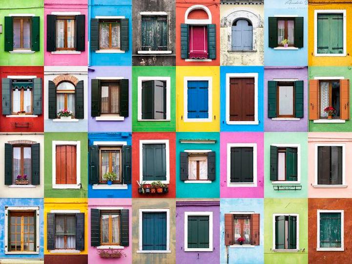 Fotógrafo señala la increíble gama de ventanas alrededor del mundo