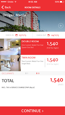 Red Planet Hotels App