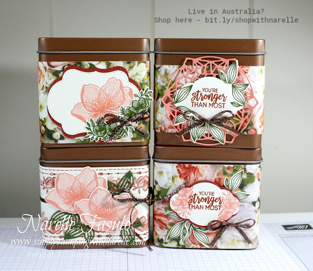 These cute little copper tins are perfect for gift  giving. Dress them up and they are perfect for any occasion. See them here - http://bit.ly/2NpnSdC