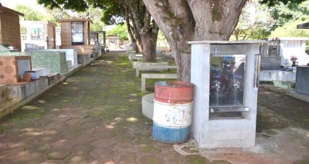 Furto em cemitério de Ubiratã e polícia prende ladrão