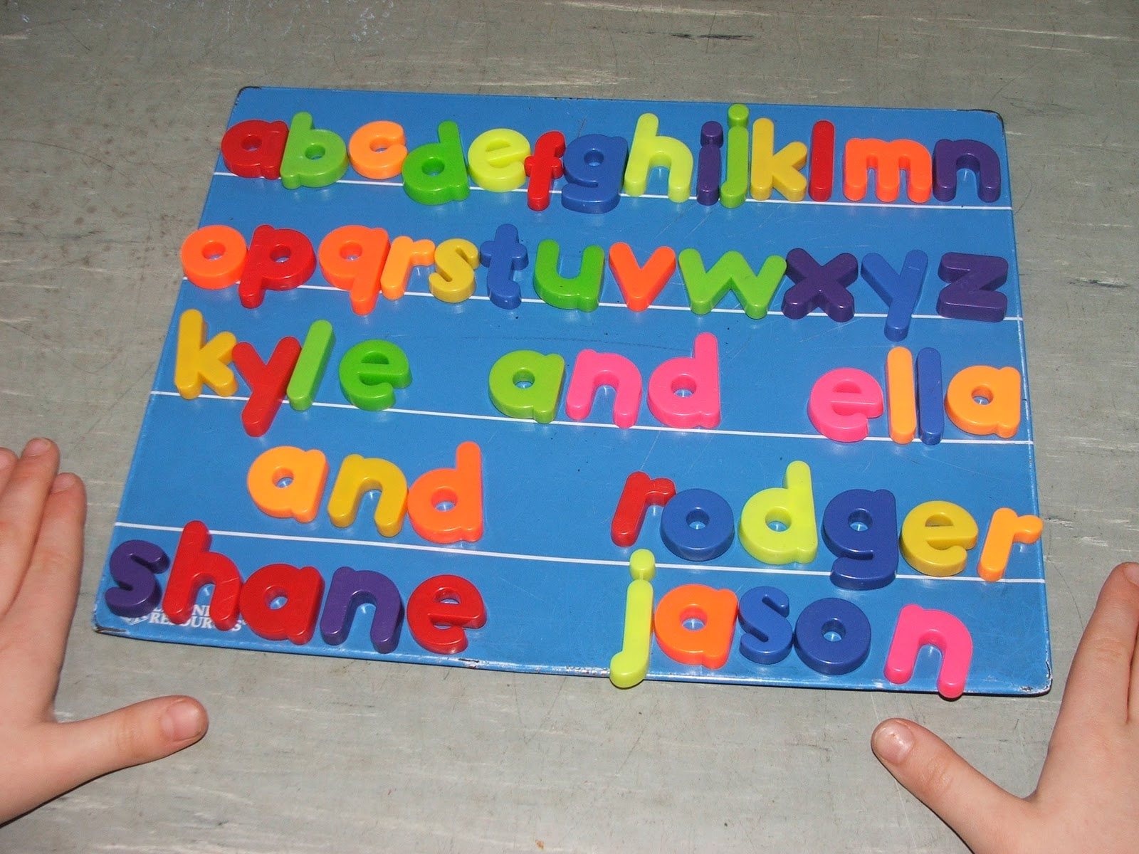 Literacy Site Letter Blending In Senior Infants
