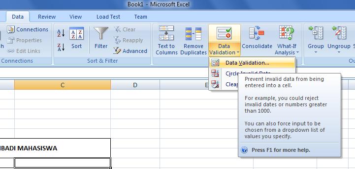 Contoh Database Excel 2007 Mosik Express