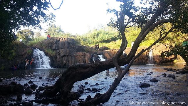 Lingmala falls Doh