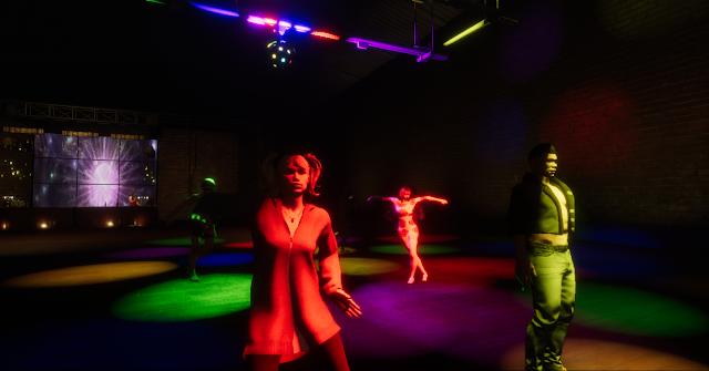 Sansar dance clubbing  \\ virtual annika - bigeyedkitteh
