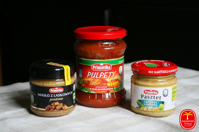 Produkty wegańskie Primavika - recenzja