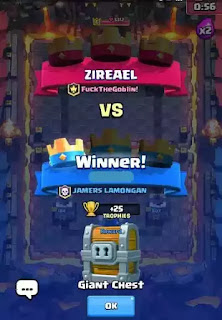 Jika sobat sudah usang bermain game clash royale Cara Mendapatkan Giant Chest, Magical Chest, dan Super Magical Chest di Clash Royale