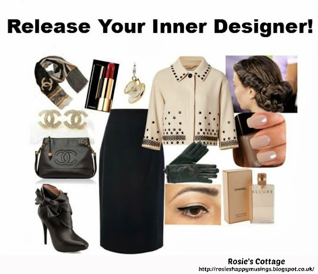 Release Your Inner designer With Polyvore - Afternoon Tea With Friends by Rosies Cottage