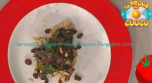 Vitello all'uccelletto con burro di arachidi e bieta ricetta Riccobono da Prova del Cuoco