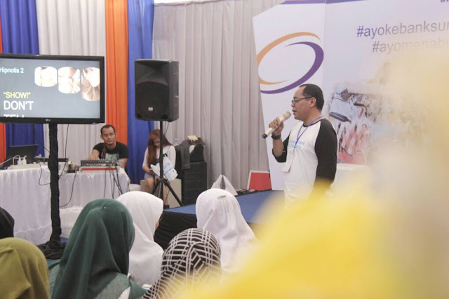 Pak Erwinsyah, Pimpinan Public Relation Bank Sumut