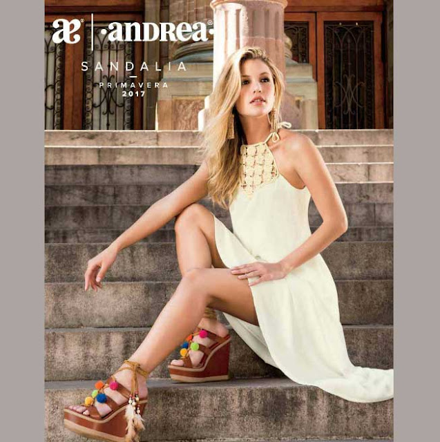 Catalogo de sandalias Andrea damas Primavera verano 2017