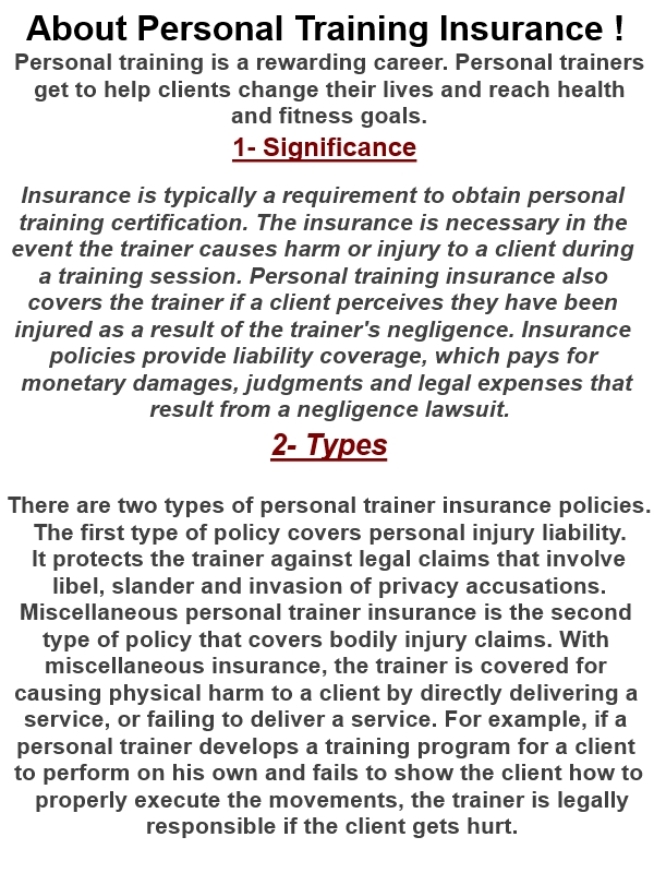 1 Very Better Of Personal Training Insurance Australia Uk Acsm