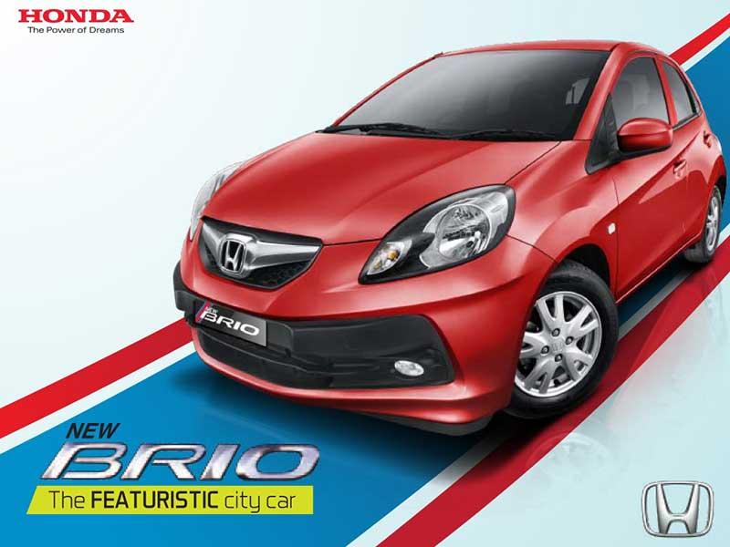 Mobil Honda Brio Bandung