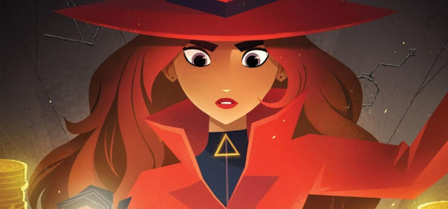 Los Lunes Seriéfilos Carmen Sandiego personaje