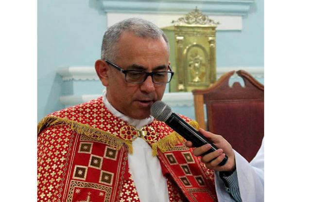 Padre Adalto Alves celebra missa em Água Branca  em comemoração a Festa da Padroeira Nossa Senhora da Conceição
