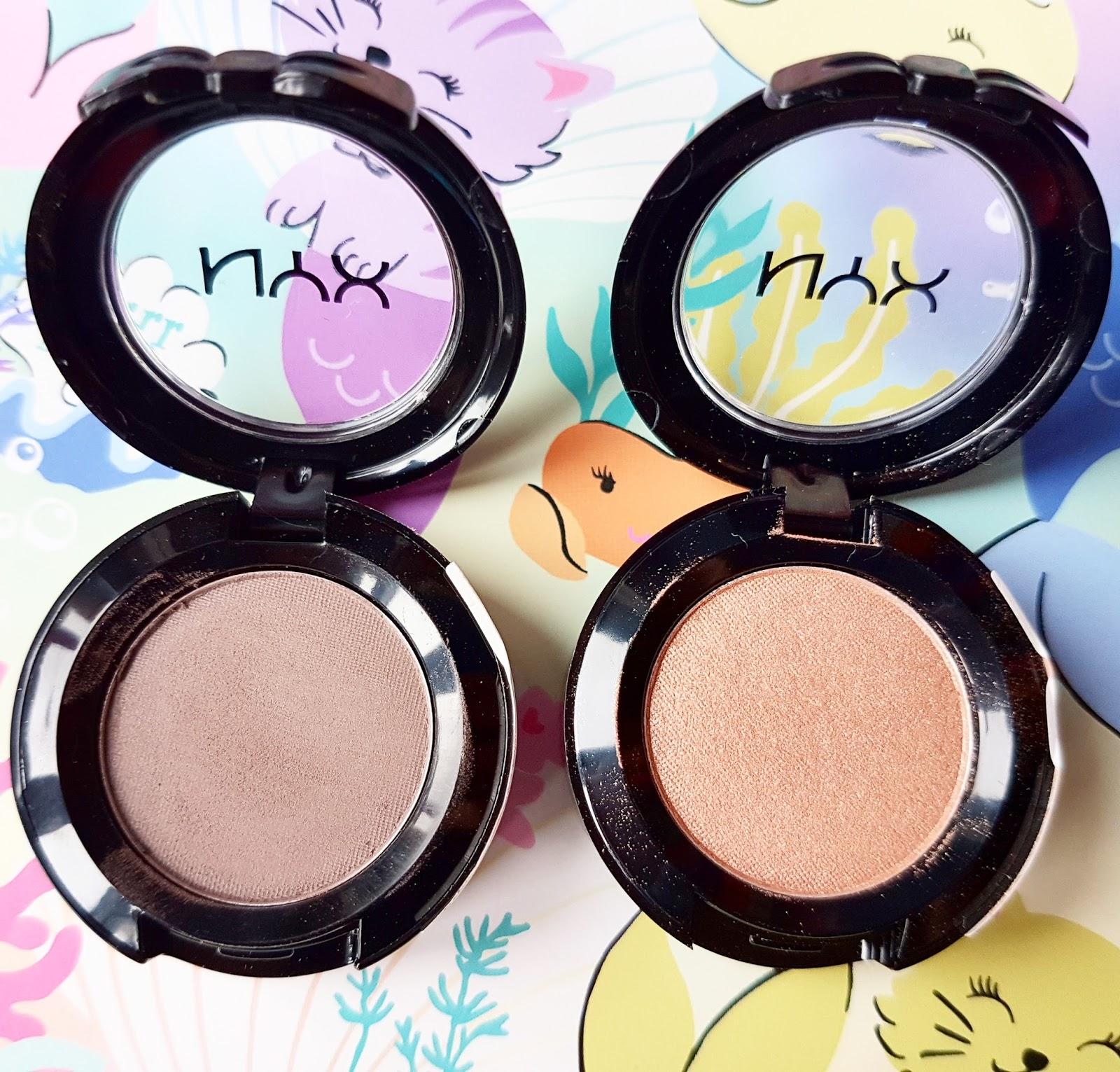 Swatches singles nyx hot eyeshadow NYX Hot