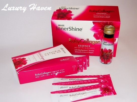 brands innershine ruby collagen essence strips