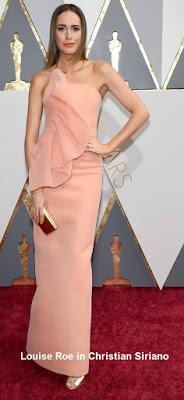 Louise%2BRoe%2Bin%2BChristian%2BSiriano - Look Óscares 2016
