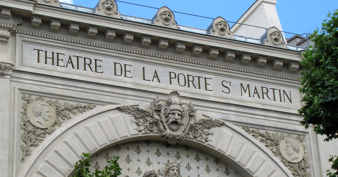 Daily photo stream th tre de la porte saint martin - Petit theatre de la porte saint martin ...