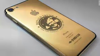 Will You Buy This Gold-plated Trump iPhone?