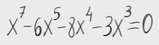69.Ecuación polinómica con soluciones enteras
